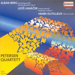 Berg, A.: String Quartet / Janacek, L.: String Quartet No. 2,