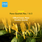 Mozart, W.A.: Piano Quartets Nos. 1 and 2 (Curzon, Amadeus Quartet) (1952)