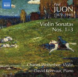 Juon: Violin Sonatas