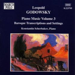 Godowsky, L.: Piano Music, Vol.  3