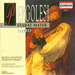 Pergolesi, G.B.: Stabat Mater / Orfeo