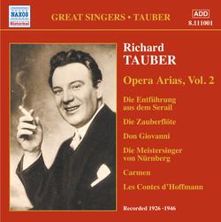 Tauber, Richard: Opera Arias (1926-1946)