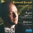 Vocal Recital: Jarnot, Konrad - Ravel, M. / Duparc, H.