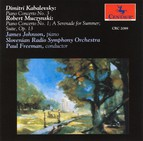 Kabalevsky: Piano Concerto No. 3 - Muczynski: Piano Concerto No. 1 / The Suite, Op. 13 / A Serenade for Summer