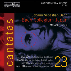 J.S. Bach - Cantatas, Vol.23 (BWV 10, 93, 178, 107)