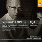 Lopes-Graça: Complete Music for String Quartet & Piano, Vol. 2