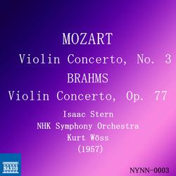 Mozart & Brahms: Violin Concerti (Live)