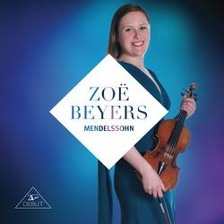 Zoë Beyers plays Mendelssohn