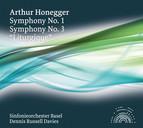 Honegger: Symphonies Nos. 1 & 3,