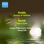 Kodaly, Z.: Dances of Galanta / Bartok, B.: Dance Suite (London Philharmonic, Solti) (1952)