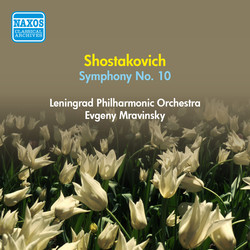 Shostakovich, D.: Symphony No. 10 (Leningrad Philharmonic, Mravinsky) (1954)