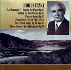 Horusitzky: Piano Sonata,