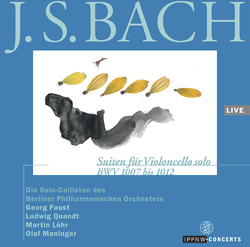 J.S. Bach: Suites for Cello Solo BWV 1007-1012 / Solo Cellists of the Berlin Philharmonic