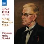 Hill: String Quartets, Vol. 6
