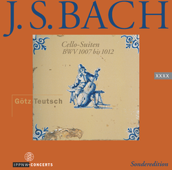 J.S. Bach: Suites for Cello Solo BWV 1007-1012 / Götz Teutsch