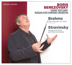 Brahms: Piano Concerto No. 1, Op. 15 - Stravinsky: Concerto for Piano and Wind Instruments