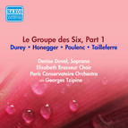 Group Des Six (Le), Part 1 - Tailleferre, G. / Honegger, A. / Poulenc, P. / Durey, L. (Paris Conservatoire, Tzipine) (1954)