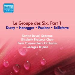 Group Des Six (Le), Part 1 - Tailleferre, G. / Honegger, A. / Poulenc, P. / Durey, L. (Paris Conservatoire, Tzipine) (1954)