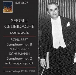 Sergiu Celibidache conducts (1958, 1960