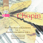Chopin: Works for Piano and Orchestra Vol. 1 - Piano Concertos Nos. 1 & 2