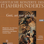 Musica Sacra 17th Century / Rosenmüller / Kuhnau / Schelle / Buxtehude / Members of the Berlin Philharmonic, Guests and Cantus Cölln