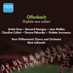 Offenbach, J.: Orphee Aux Enfers [Operetta] (Mollien, Collart, Leibowitz) (1951)
