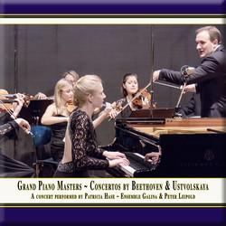 Beethoven: Piano Concerto No. 2 - Ustvolskaya: Concerto for Piano, Strings & Timpani (Live)