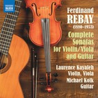Rebay: Complete Sonatas for Violin/Viola & Guitar