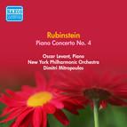 Rubinstein, A.: Piano Concerto No. 4 (Levant, Mitropoulos) (1952)
