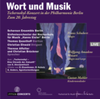 Word and Music: Schubert - Mozart - Mahler
