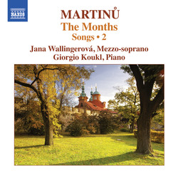 Martinů: Songs, Vol. 2