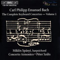 C.P.E. Bach - Keyboard Concertos, Vol.1