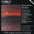 Britten - Sinfonietta, Op.1