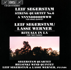 Segerstam - String Quartet No.6