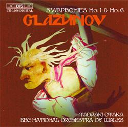 Glazunov - Symphonies No.1 & No.6