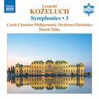 Koželuch: Symphonies, Vol. 3