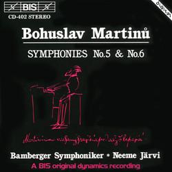 Martinu - Symphonies No.5 & No.6