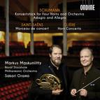 Schumann, Saint-Saëns & Glière: Works for Horn & Orchestra