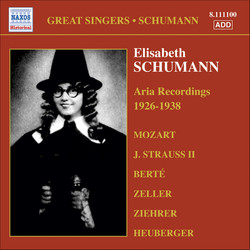 Schumann, Elisabeth: Mozart and Viennese Operetta Aria Recordings (1926-1938)
