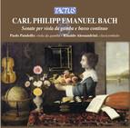 C.P.E. Bach: Sonate per Viola da Gamba e Basso Continuo