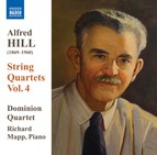 Hill: String Quartets, Vol. 4