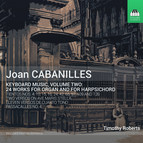 Cabanilles: Keyboard Music, Vol. 2