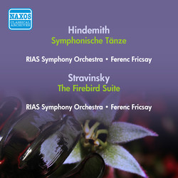Hindemith, P.: Symphonische Tanze (Rias Symphony, Fricsay) (1951) /  Stravinsky, I.: Firebird Suite (Swiss Romande Orchestra, Ansermet) (1950)