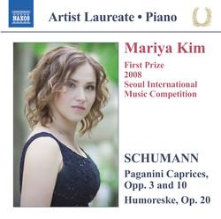 Schumann: Paganini Caprices, Opp. 3 & 10 - Humoreske