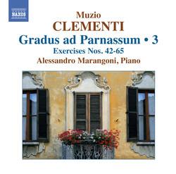 Clementi: Gradus ad Parnassum, Vol. 3 (Nos. 42-65)