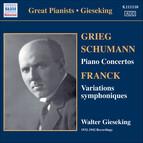 Gieseking - Concerto Recordings, Vol. 1
