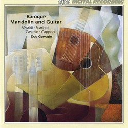 Baroque Mandolin and Guitar