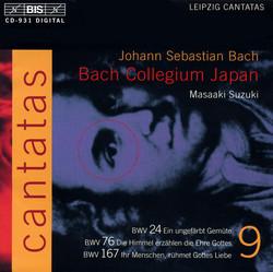 J.S. Bach - Cantatas, Vol.9 (BWV 24, 76, 167)
