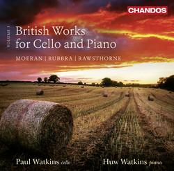 British Works for Cello & Piano, Vol. 3