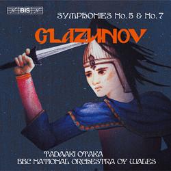 Glazunov - Symphonies No.5 & No.7